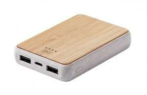 Powerbank bambusowy ECO